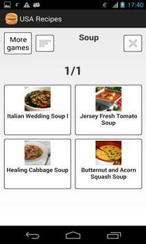 USA Recipes apk screenshot