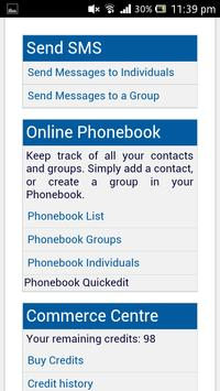 SMS Hub apk screenshot