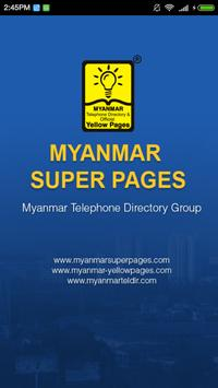 Myanmar Super Pages Directory poster