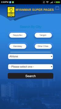 Myanmar Super Pages Directory apk screenshot