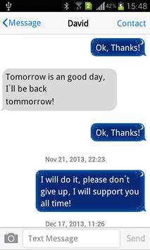 Messaging+ Cute Emoji apk screenshot