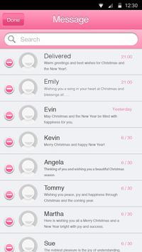 Candy Pink Theme-Messaging 6 apk screenshot