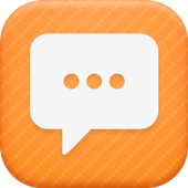 Sun Orange Theme-Messaging 6 icon