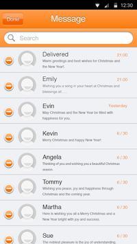 Sun Orange Theme-Messaging 6 apk screenshot