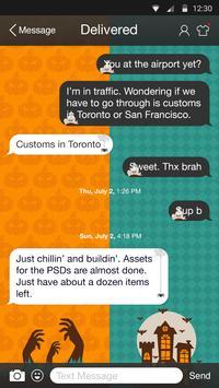 Halloween Party - Messaging 7 apk screenshot