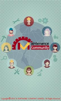 maintenance community poster