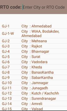 Gujarat Pincode,Rto STD code apk screenshot