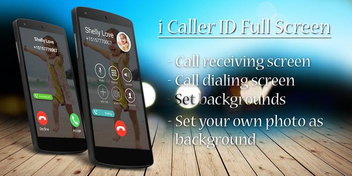 i Calling Screen Caller ID poster