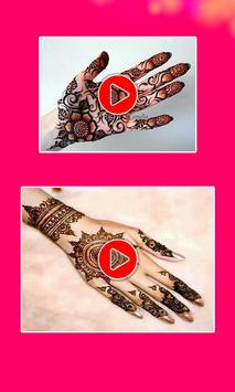 Mehndi Designs Videos apk screenshot