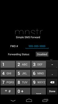 Simple SMS Forwarder poster