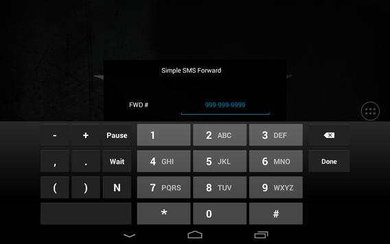 Simple SMS Forwarder apk screenshot