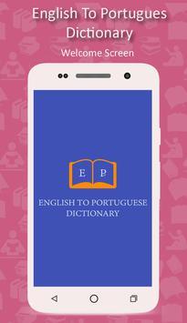 English To Portugue Dictionary poster