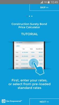 Surety Bond Price Calculator apk screenshot