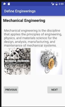 Define Engineerings poster