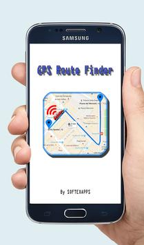 GPS Route Finder Exact poster