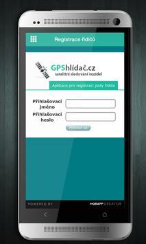 GPShlídač.cz apk screenshot