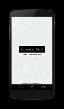 Shoppers Stop Mobcast poster