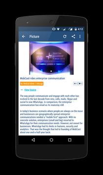 MobCast apk screenshot