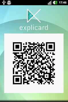 Explicard apk screenshot