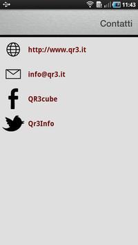 QR3Reader apk screenshot