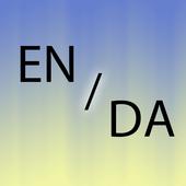 Danish English translator icon