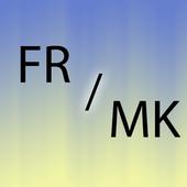Macedonian French translator icon