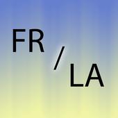 Latin French translator icon