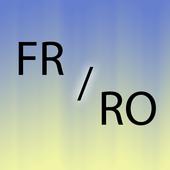 Romanian French translator icon