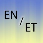 Estonian English translator icon