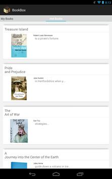 [Free e-Book] BookBox Reader apk screenshot