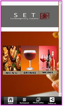SET Contemporary Cuisine apk screenshot
