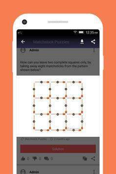 Brain Teasers (Puzzles) apk screenshot