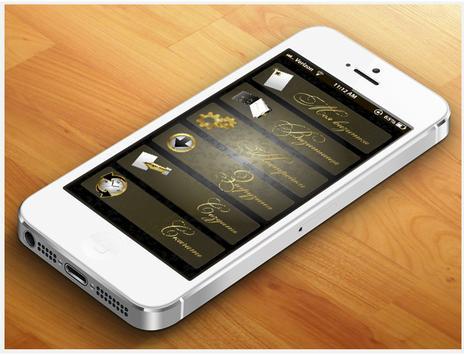 MobiCard - business card apk screenshot