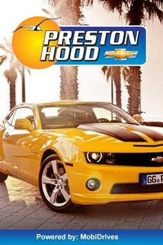 Preston Hood Chevrolet poster