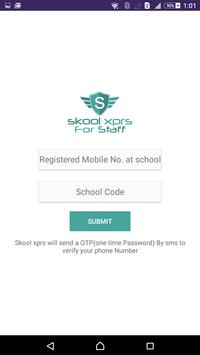 Skool Xprs for Staff apk screenshot