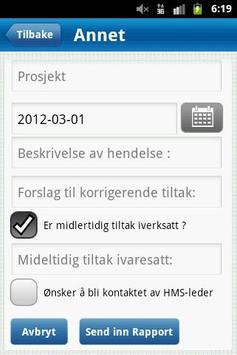 Huurre H-Rapport apk screenshot
