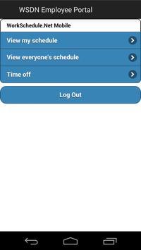 WorkSchedule.Net apk screenshot