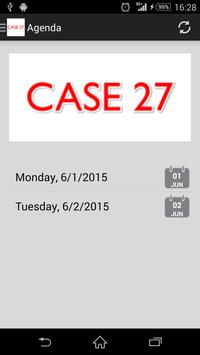 CASE 27 poster