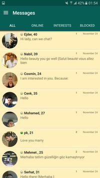 Eris Video Chat Application apk screenshot