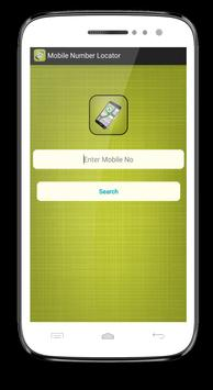 Mobile Number Locator poster
