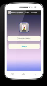 Mobile Number Tracker Location poster
