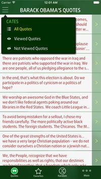 Quotes from Barack Obama apk screenshot