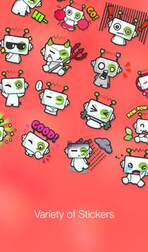 Stickers & Messages by mobile9 apk screenshot