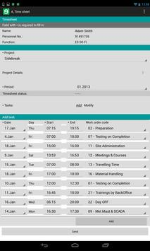 Mobilengine mobile workflow apk screenshot