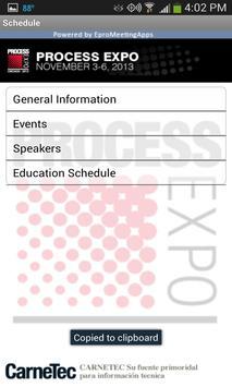 Process Expo 2013 apk screenshot