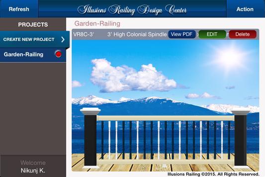 Illusions Railing Designer apk screenshot