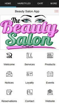 Beauty Salon Engage and Reward poster