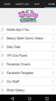 Beauty Salon Engage and Reward apk screenshot
