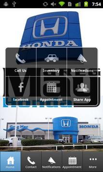 Greg May Honda poster
