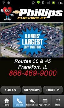 Phillips Chevrolet Illinois of apk screenshot